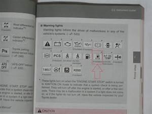 Prado Warning Light - Prado - Toyota Owners Club
