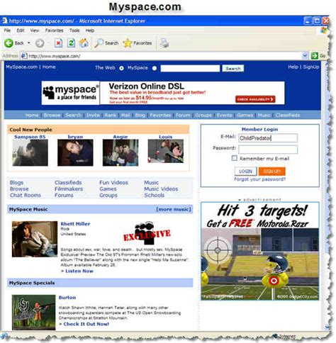 Is Myspace Or Chatrooms Safe For Kids?  Grown Up Geek