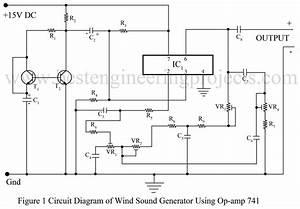 Wind Sound Generator Using Ic 741