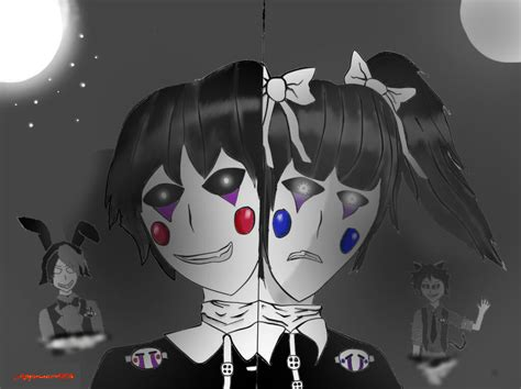 Fnaf Puppet And Fnac Puppet (remake) By Applesauce006 On