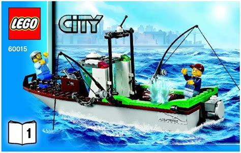 Lego Albatross Boat by Lego Coast Guard Plane 60015 City