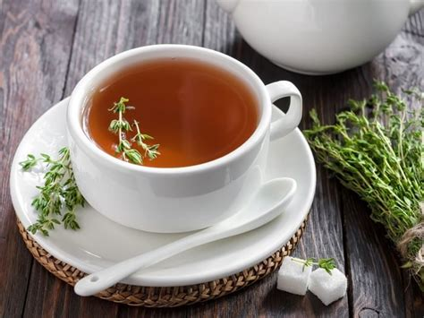 incredible benefits  thyme tea organic facts