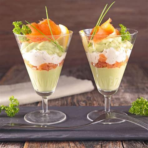 avocat cuisine recette recette avocat saumon fumé et fromage frais en verrines