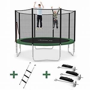 Trampolin Netz 366 : outdoor trampolin 366 cm gr n mit verst rktem netz ~ Whattoseeinmadrid.com Haus und Dekorationen