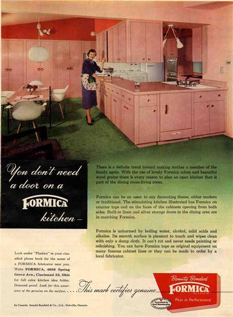 formica pink kitchen todays kitchen flashback design