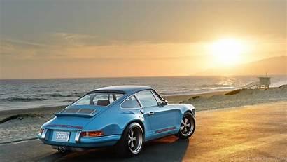 Porsche 911 Singer Background Desktop