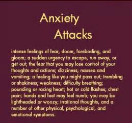 Anxiety Attacks Quotes and Sayings
