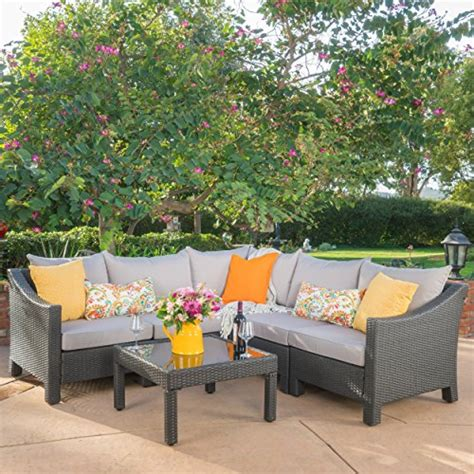 Deals On Outdoor Furniture by Great Deal Furniture Caspian 6 Outdoor Wicker