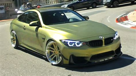 Zperformance Custom Bmw M4 Wheelspins In Monaco Youtube