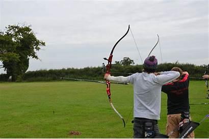Shot Recurve Archery Execution Shoot Bows Demonstration