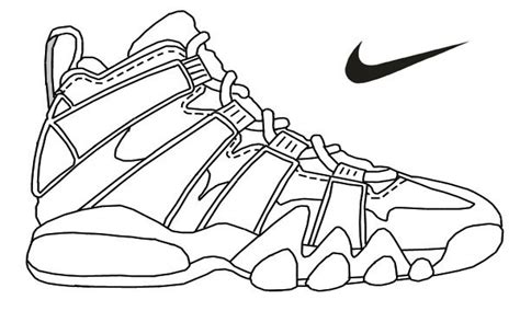 Coloring Jordans by Air Coloring Pages At Getcolorings Free