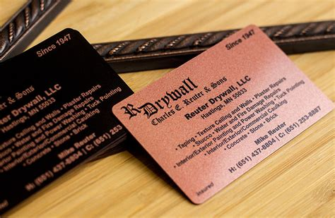 construction business cards business card plastic printers