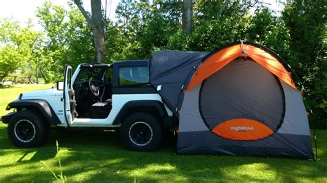 jeep tent 2 door rightline gear cing and travel tip blog along with car