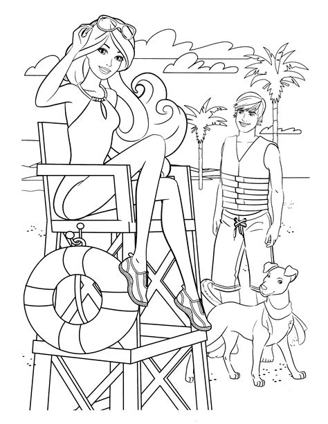 Barbie Drawing Pictures At Getdrawingscom Free For