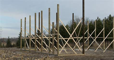 Steel Pole Barn Kits by Pole Barn Kits Vs Steel Buildings Complete Comparison