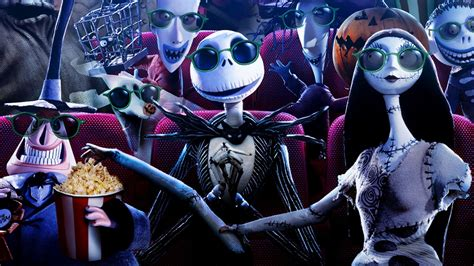 Background High Resolution Nightmare Before Wallpaper by The Skeleton Wallpaper 67 Images