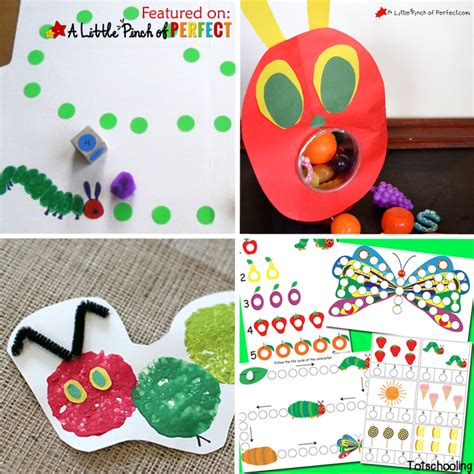 27 of the best hungry caterpillar activities for 836 | The Very Best Hungry Caterpillar Activities for Kids Square copy