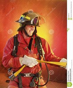 Fighting The Fire. Stock Photos - Image: 22239173