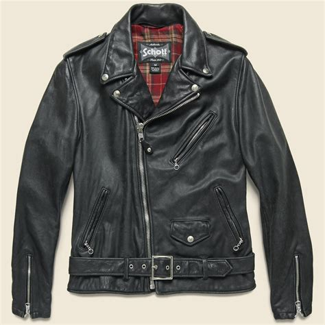 Cowhide Motorcycle Jacket by Lightweight Fitted Cowhide Motorcycle Jacket Black
