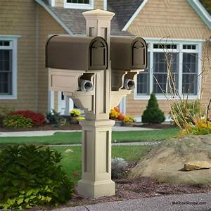 Rockport, Double, Mailbox, Post