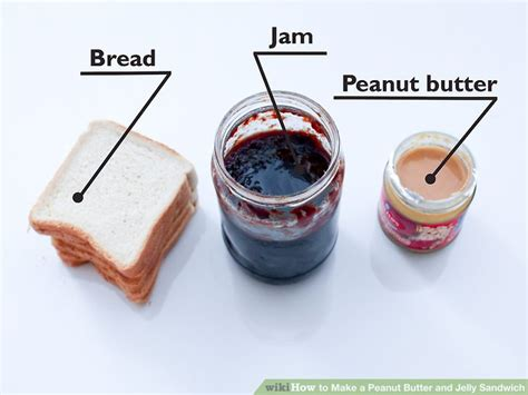 what to make with peanut butter how to make a peanut butter and jelly sandwich 11 steps