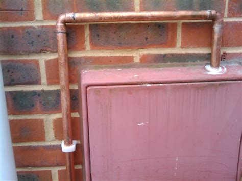 Pipe In Fuse Box by Day 45 Kitchen Plumbing And Gas Pipes Installed My