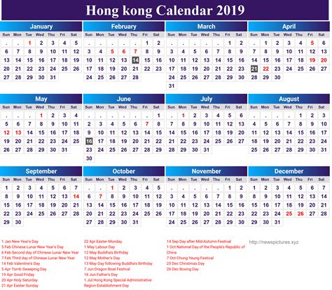 calendar hongkong editable newspicturesxyz