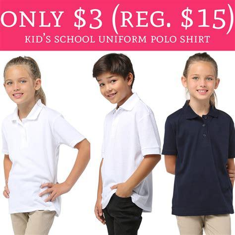 hot   regular  kids school uniform polo shirt