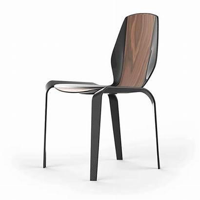 Fibre Carbon Chair Project Behance Veneer Combination