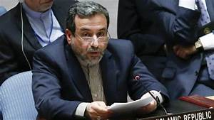 Seyyed Abbas Araqchi, Iran's deputy foreign minister for ...
