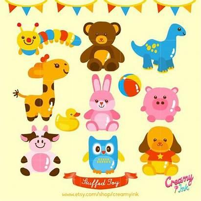 Stuffed Toy Toys Clip Animal Clipart Digital
