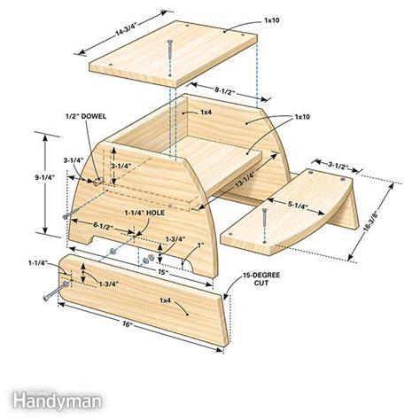 build  step stool kids stool diy stool