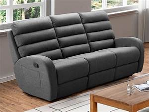Relaxsofa 3 Sitzer : relaxsofa 3 sitzer stoff turda grau g nstig ~ Watch28wear.com Haus und Dekorationen
