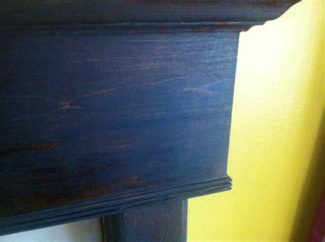 diy blue wood stain wooden  wood chisel onerouspby