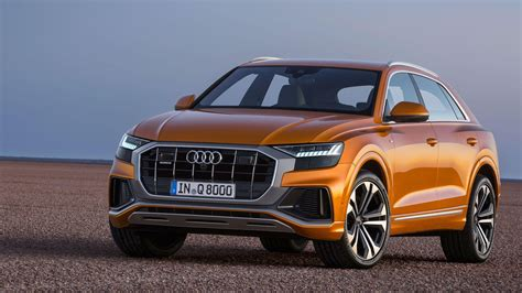 audi q8 brings sportier styling to the luxury suv class