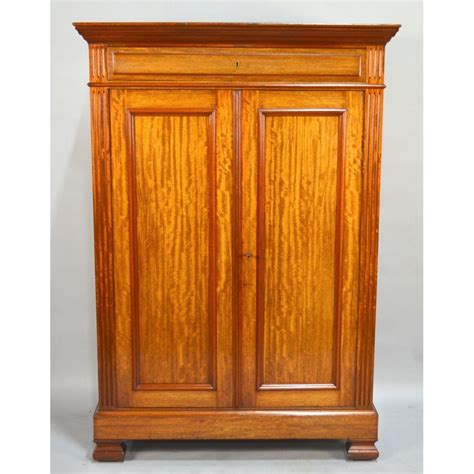 Linen Armoire Storage by Antique Mahogany Louis Philippe Bookcase Linnen