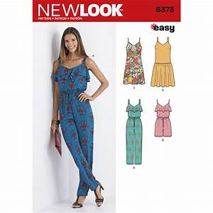 Pattern for Misses' Jumpsuit or Romper and Dresses