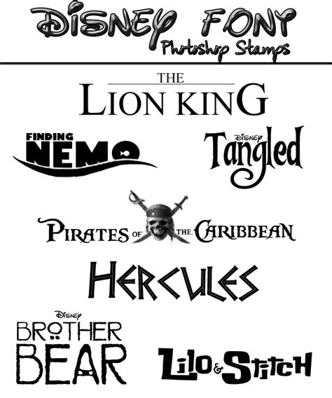 Coloring Logo In Photoshop by Disney Font Photoshop Sts By Specialkaye94 On Deviantart