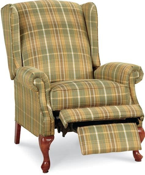 La Z Boy Wingback Chair by High Leg Recliner Town Country Furniture