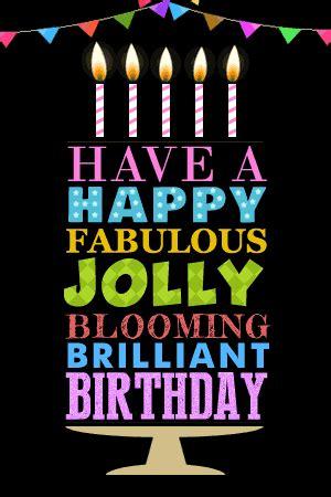 happy fabulous jolly  happy birthday ecards