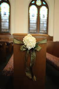 wedding pew bows united methodist church annateague