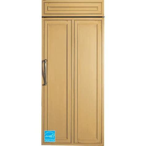 ge monogram  cuft panel ready side  side refrigerator zirnhrh brandsmart usa