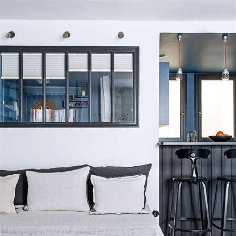 cuisine ouverte sur entr馥 bar de separation cuisine ouverte maison design bahbe com