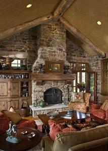 44, Stunning, Rustic, Mountain, Farmhouse, Decorating, Ideas