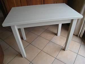 pas a pas pour relooker une table en pin vernie patines With peinture pour table en bois