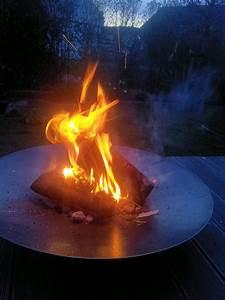 Feuerschale 120 Cm : 60 cm runde feuerschale schlicht und hochwertig aus 3 mm stahl von nielsen grill shop ~ Orissabook.com Haus und Dekorationen