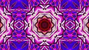 Pink & Purple Kaleidoscope Background for Videos - YouTube  Purple