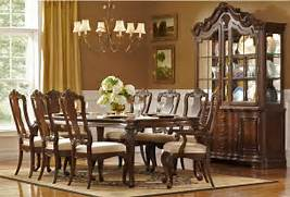 Antique Tuscan Formal Dining Room Used Dining Room Chairs Colfax Round Dining Table U0026 4 Leather