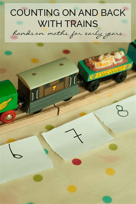 preschool maths games uk counting on and back with trains 398