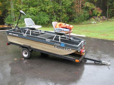 Bass Tracker Boat Trailer Axle by Bass Tracker Bantam 3x Boat Minn Kota Motor Trailer